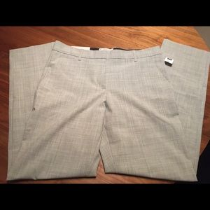 GAP Straight Leg Grey Work Pants NWT
